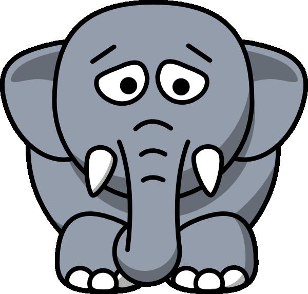 600x573 Elephant Clip Art Free