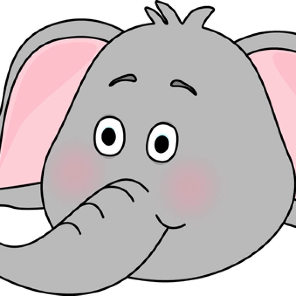 Elephant Face Clipart at GetDrawings.com | Free for personal use ...