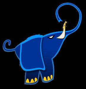 291x300 165 Free Elephant Vector Art Public Domain Vectors