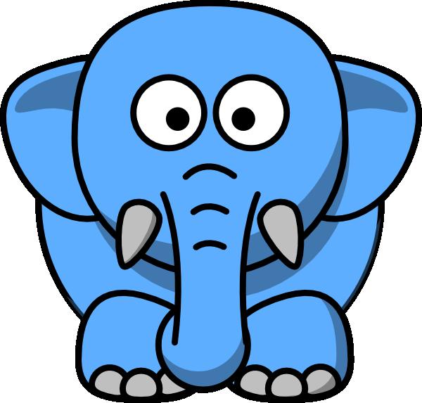 600x573 Elephants Cartoon