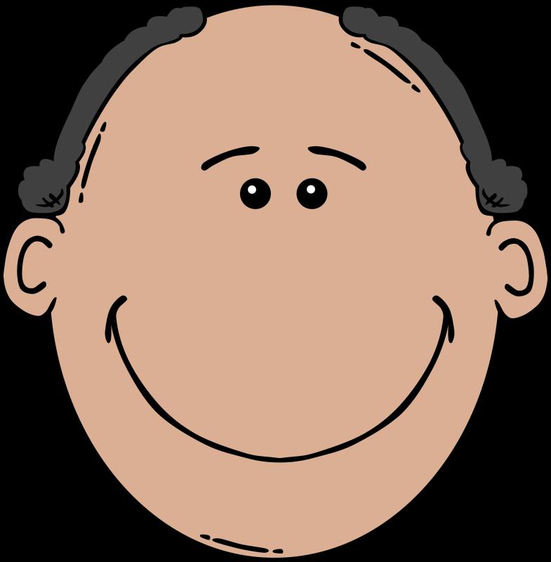 785x800 Free Clipart Man Face Cartoon Gerald G