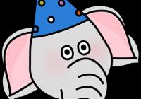 200x140 Elephant Face Clipart Circus Elephant Face Clip Art Circus