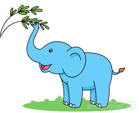 550x448 Sitting Elephant Clipart