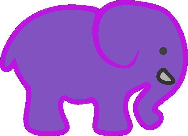 600x436 Baby Elephant Vector