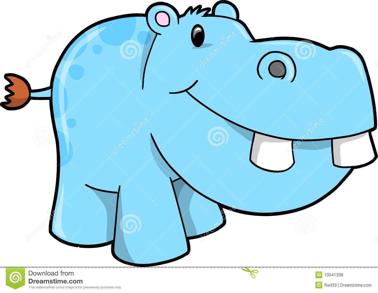 1300x1009 Cute Hippo Clipart