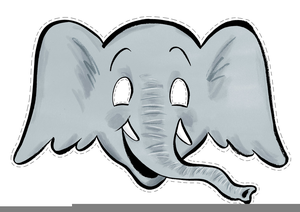 300x212 Free Clipart Of An Elephant Free Images