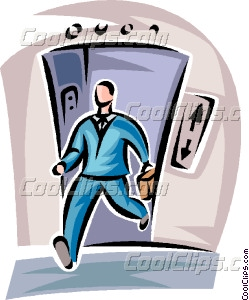 249x300 Man Walking Off Of The Vector Clip Art