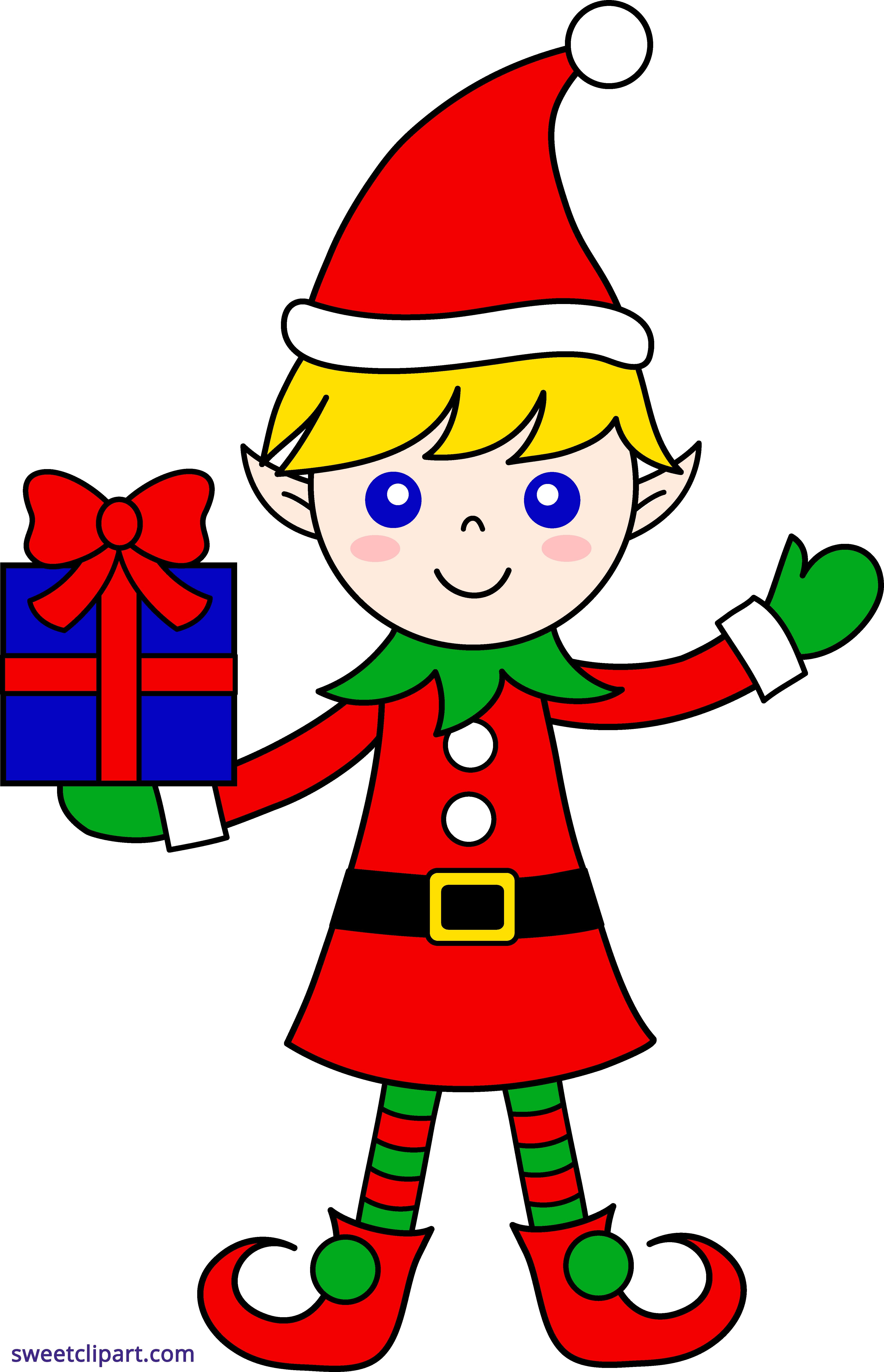 4339x6733 Elf Clip Art Thatswhatsup