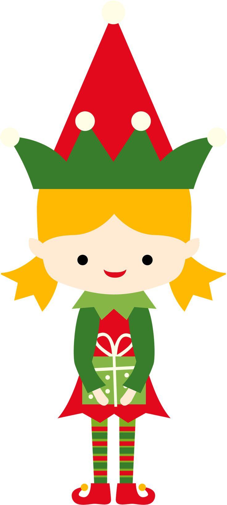 736x1637 Female Elf Elf Clip Art Merry Christmas Amp Happy New Year Arts