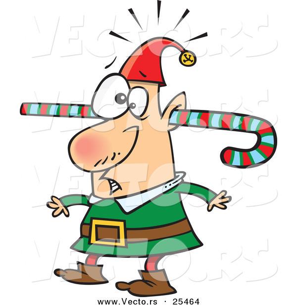 600x620 Silly Elf Clipart