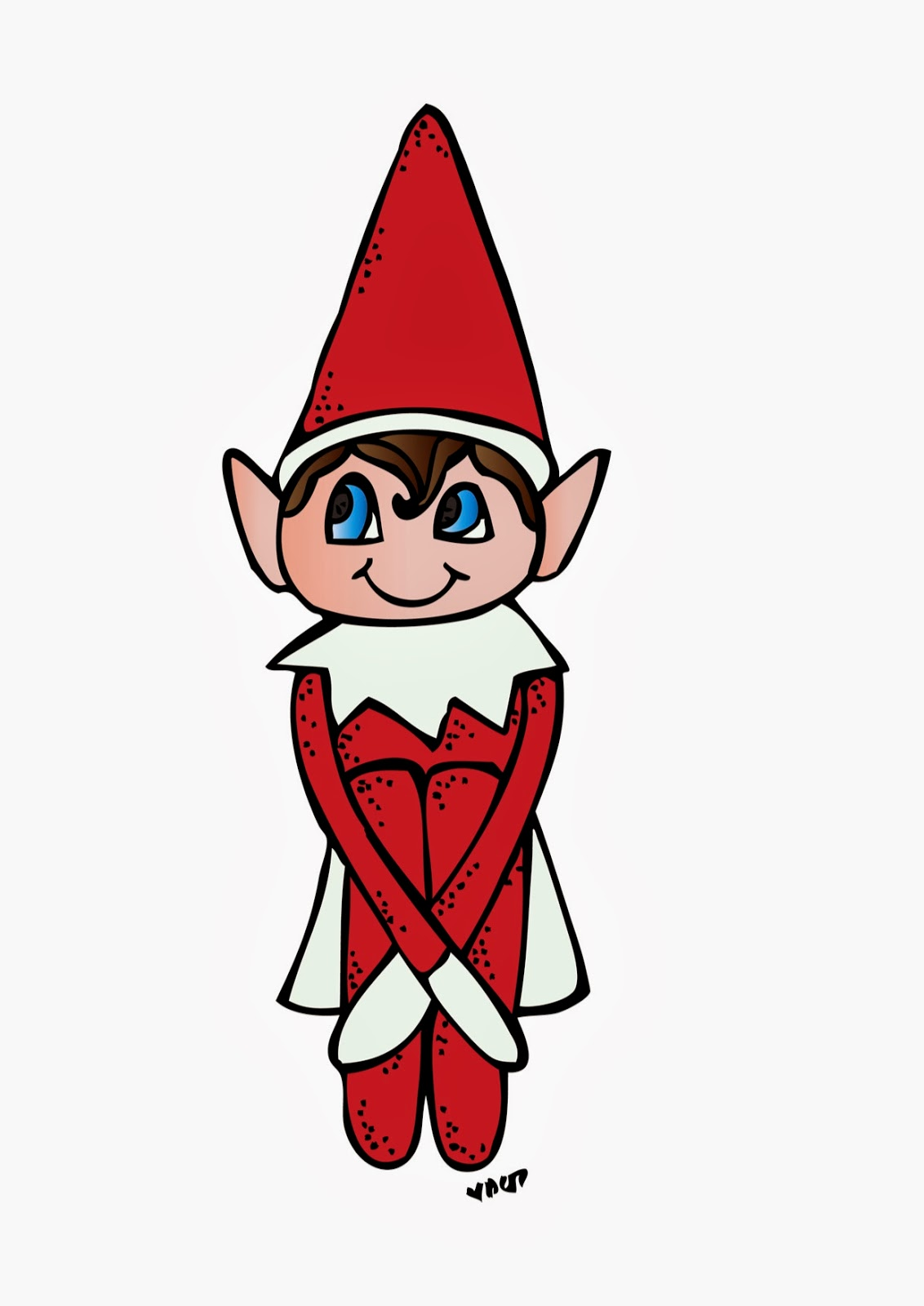 1132x1600 Free Elf On The Shelf Clipart 562125