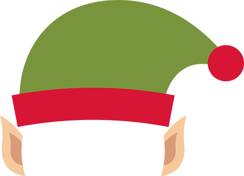 500x362 Collection Of Elf Hat Clipart Png High Quality, Free