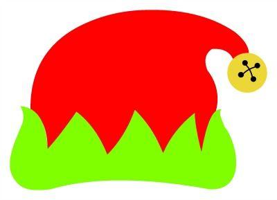 400x289 Elf Hat Monogram Topper Svg Svg's And More Elf Hat