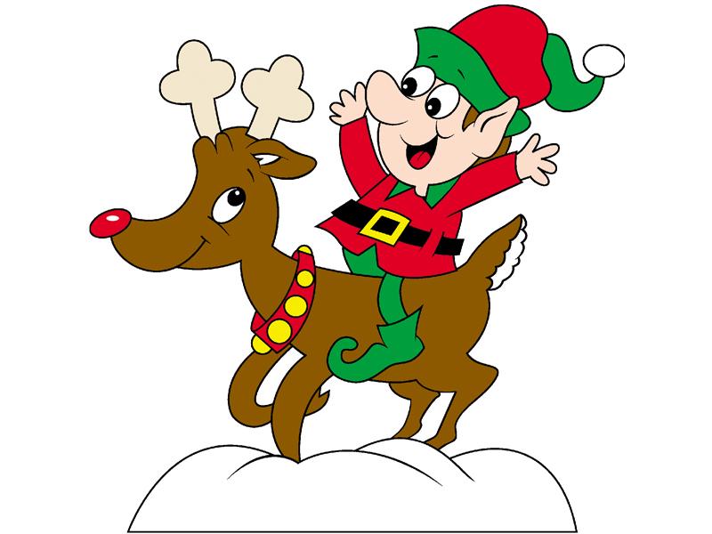 800x600 Reindeer Drawing Christmas Elf