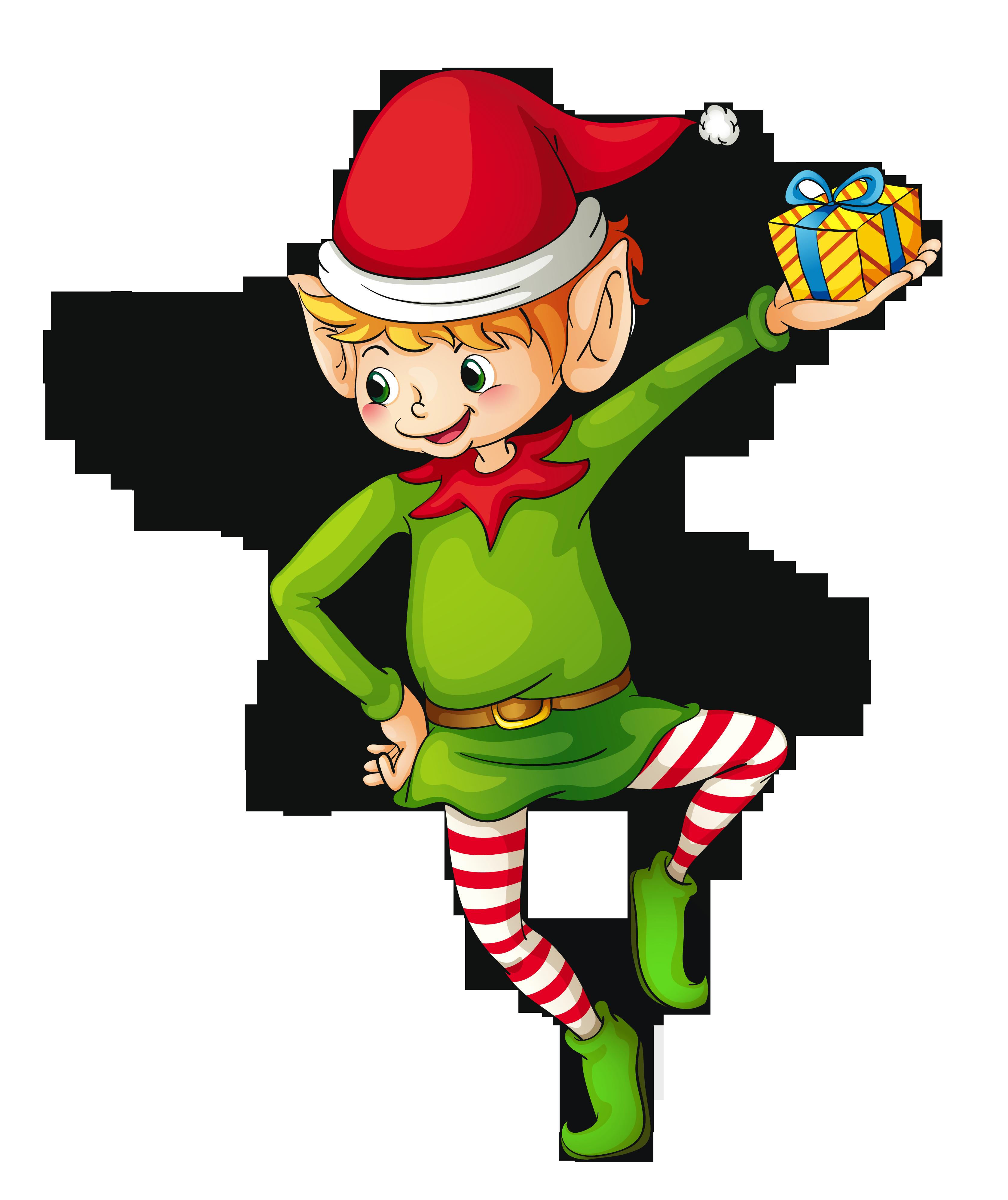 3354x3993 Top 89 Elf Clip Art