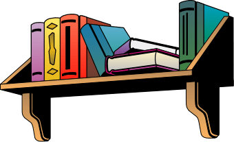 340x207 Books On Shelf Clipart Clipart Panda Free Clipart Images, Funny