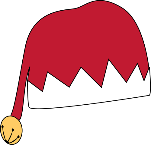 500x478 Red Elf Hat Clip Art