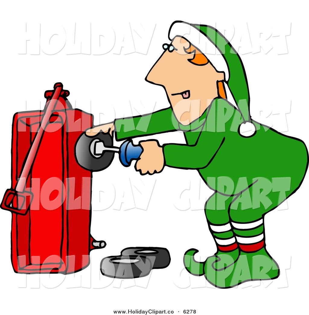 1024x1044 Santa Elf Clipart