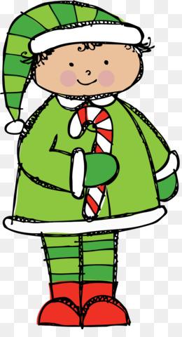 260x480 Christmas Fairy Elf Clip Art