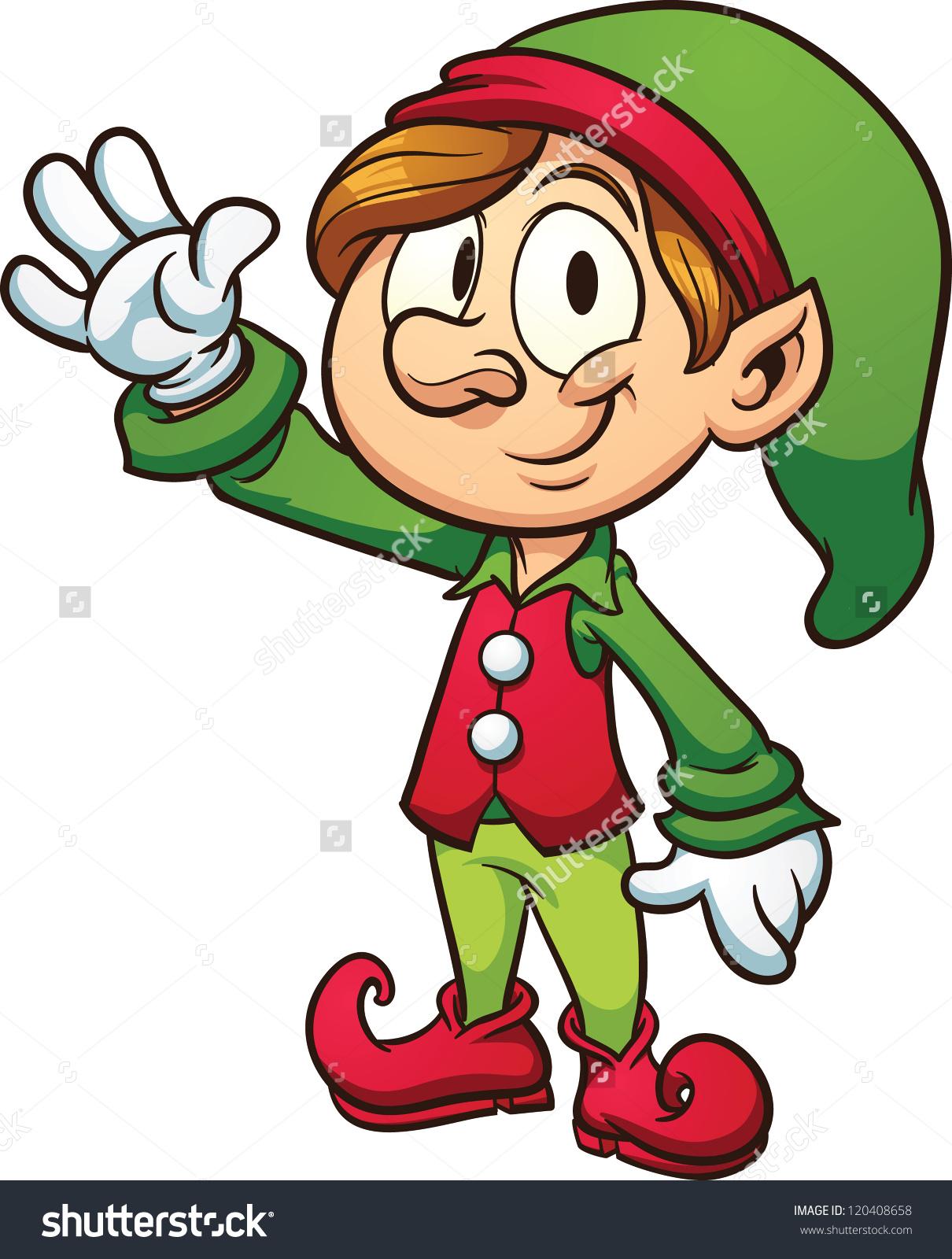 1210x1600 Clip Art Christmas Elves Clip Art