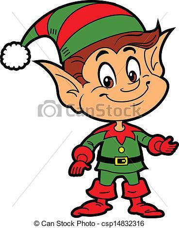 369x470 Elf Vector Clip Art Of Christmas Elf