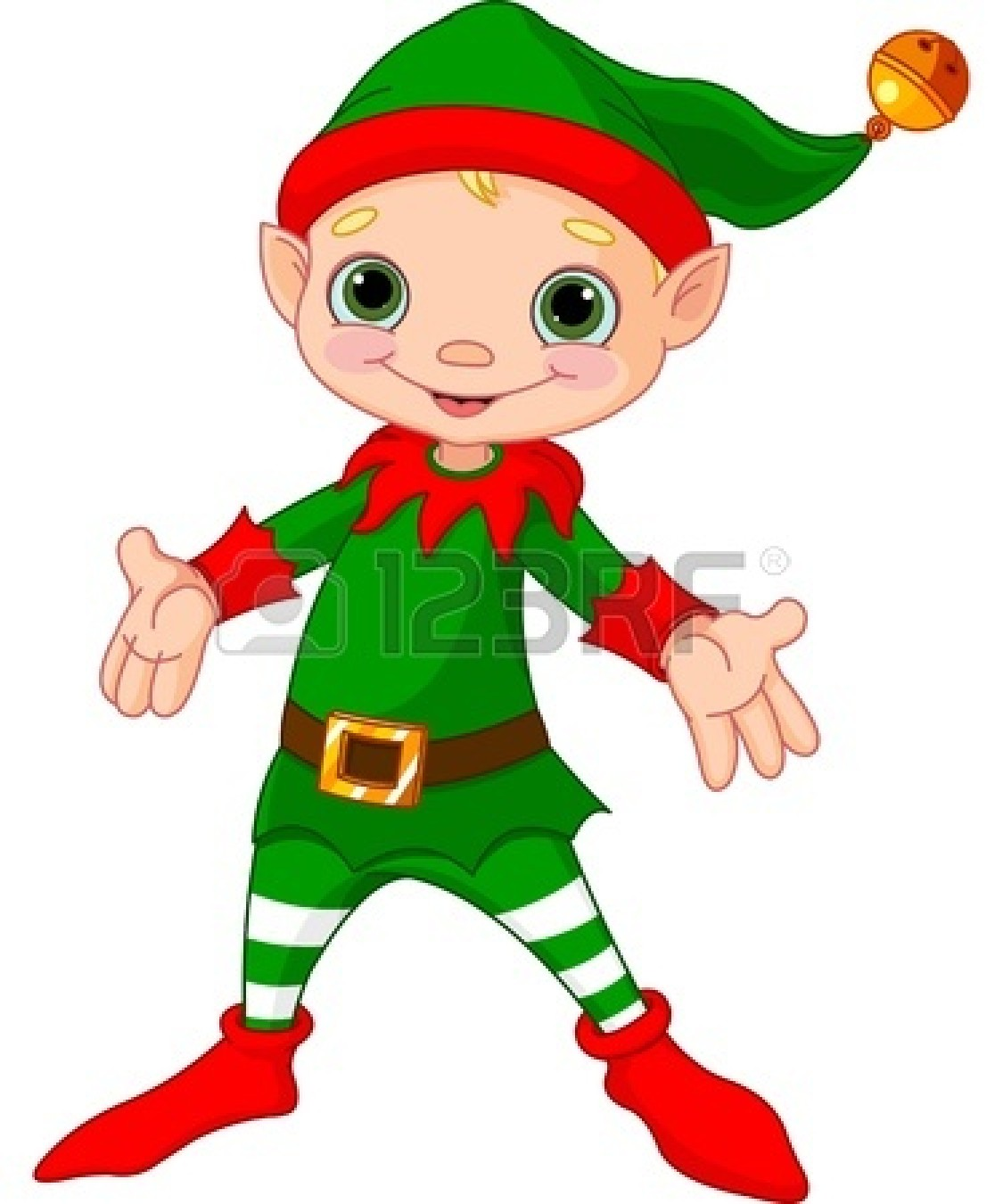 1125x1350 Elf With Boy Clipart