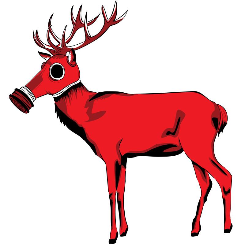 800x824 Elk Antler Clip Art