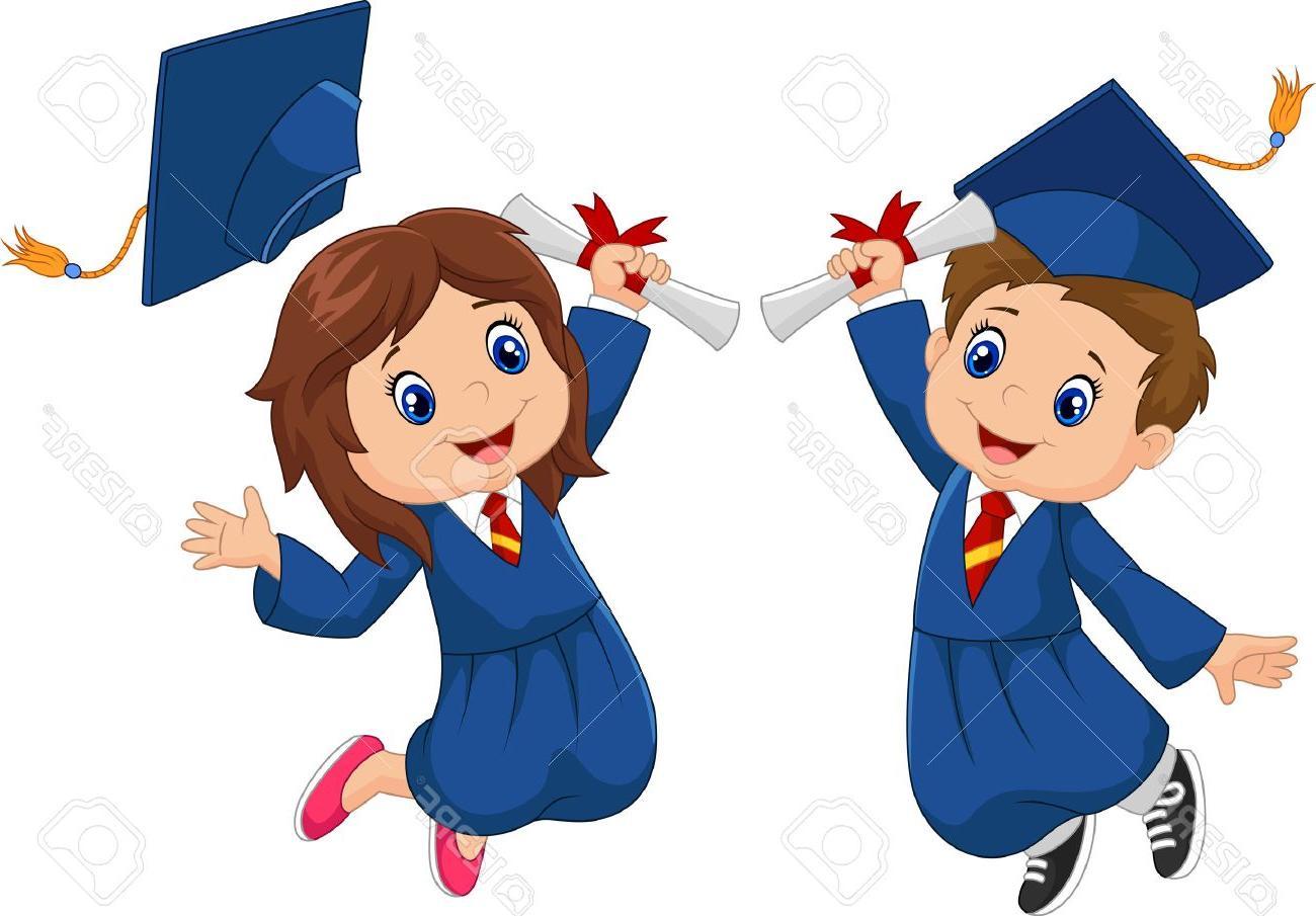 1300x905 Hd Preschool Graduation Clip Art Vector Images Clip Art Designs