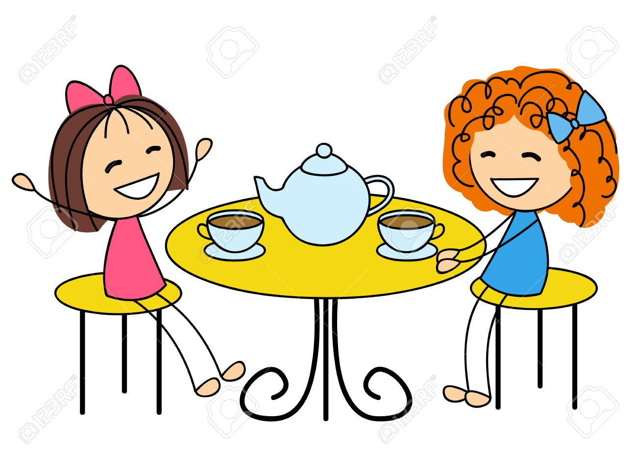 1300x919 Clip Art Tea Party Clip Art