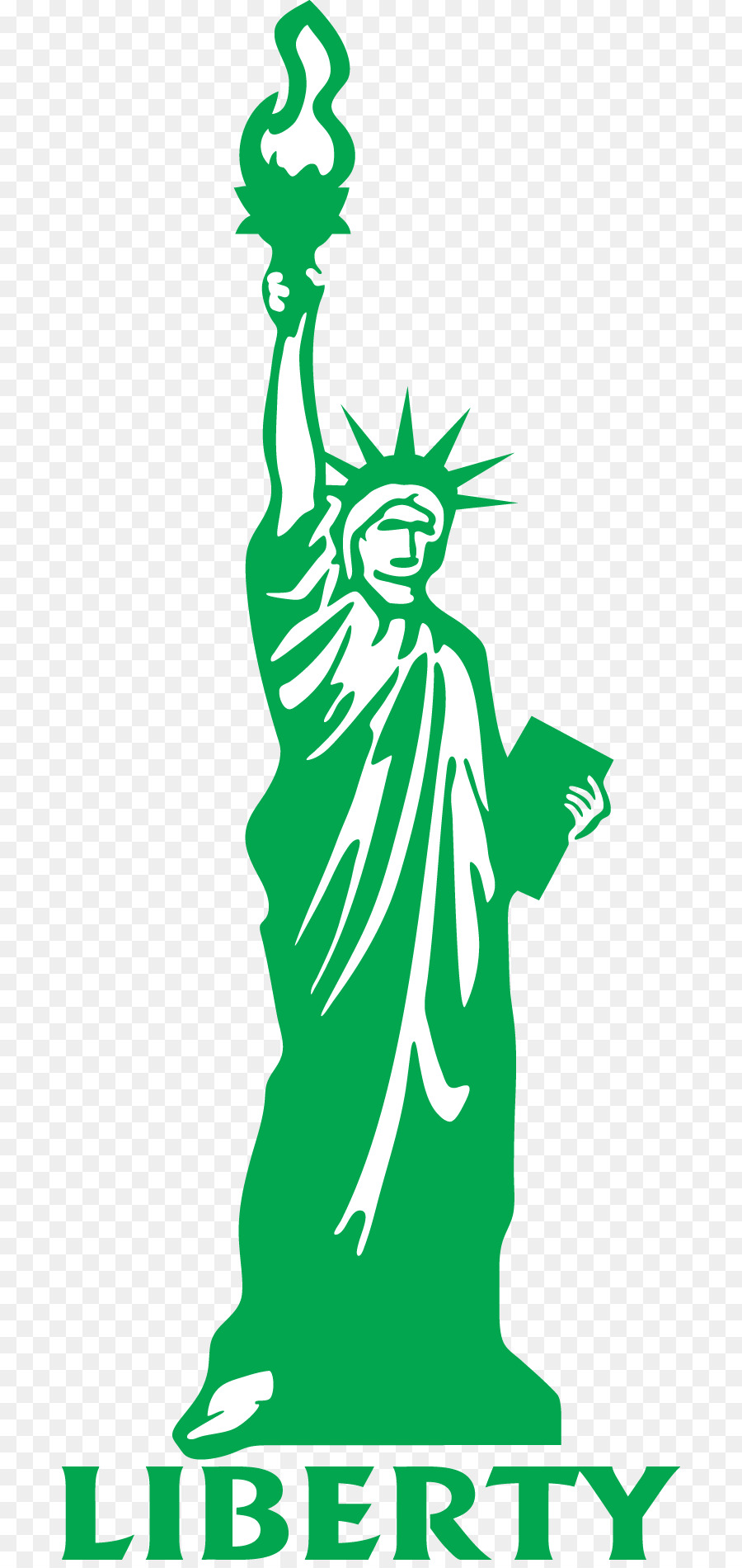 900x1900 Statue Of Liberty Drawing Cartoon Clip Art