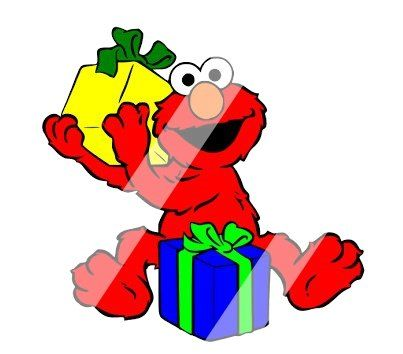 Elmo Christmas Clipart