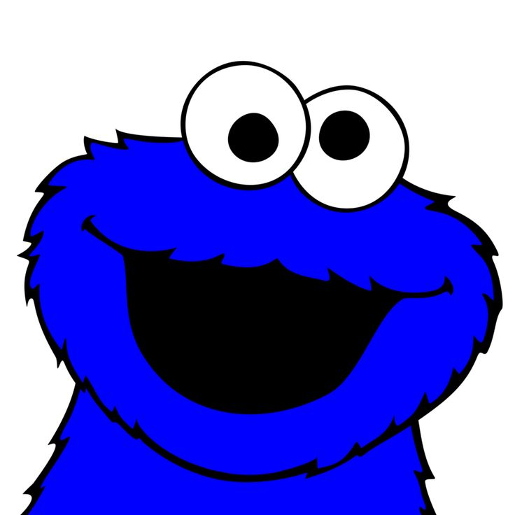 736x736 Cookie Monster Clipart Face