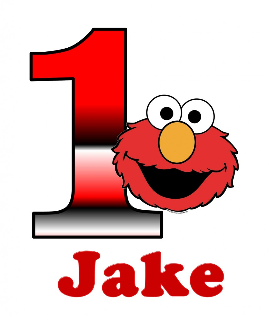 858x1024 Birthday Clipart Elmo
