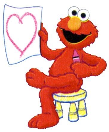 365x440 Elmo Clipart