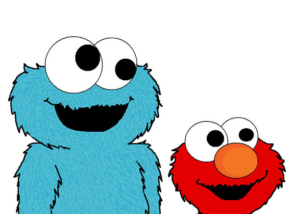 600x437 Elmo Cartoon Clipart