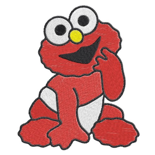 500x500 Baby Elmo Clipart