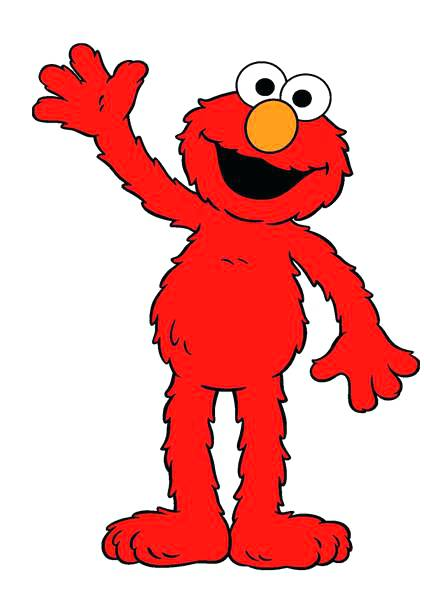 424x600 Cad Outline Collection Clip Art Elmo Face Template For Cake