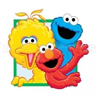 400x400 Sesame Street Clipart Big Bird