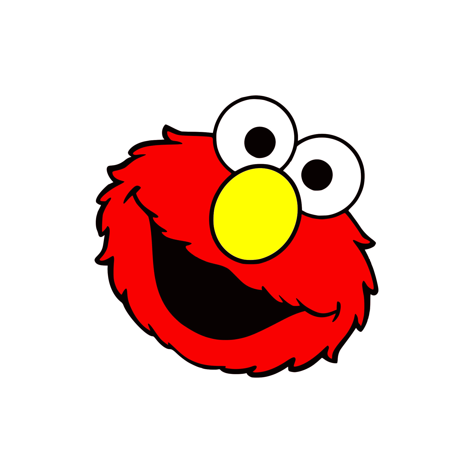 Elmo Face Clipart Elmo Face Clipart at G...