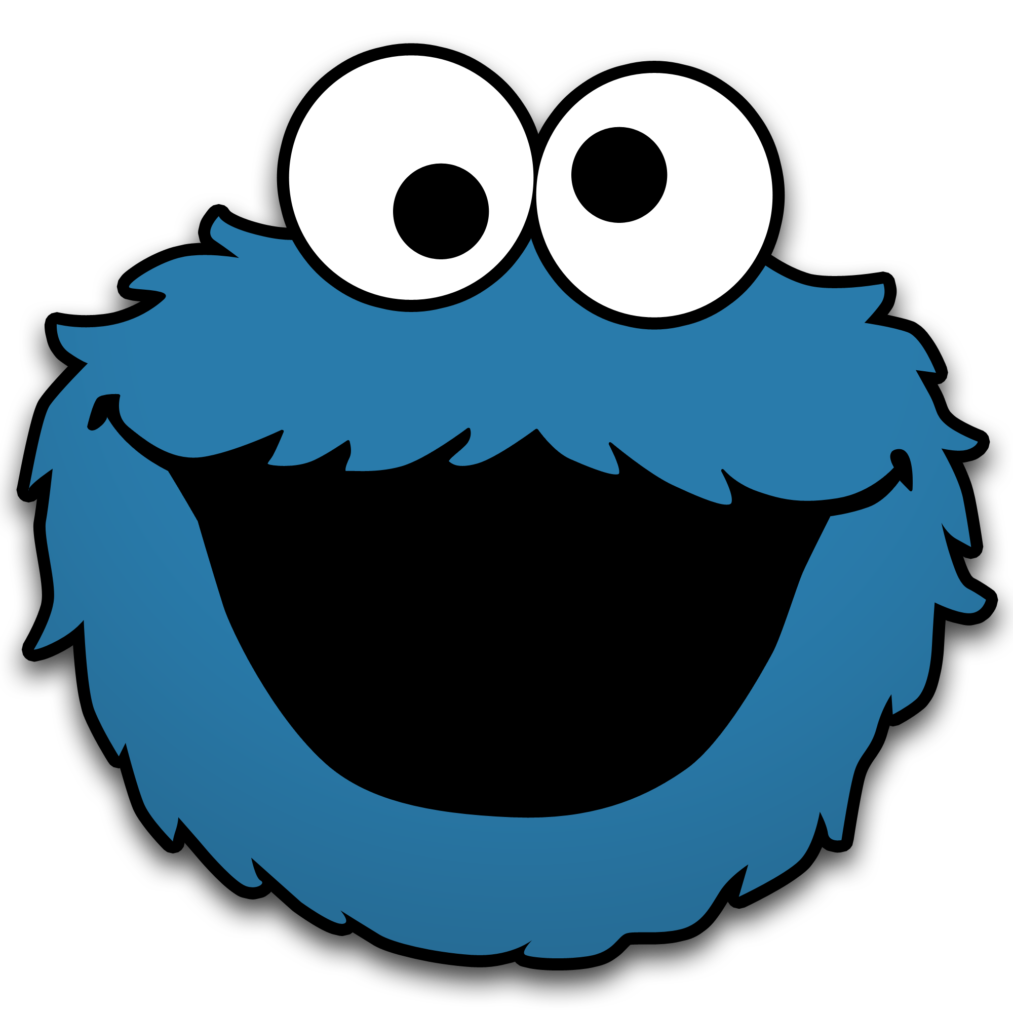 2000x2000 Cookie Monster By Neorame D4yb0b5 Birthday Ideas
