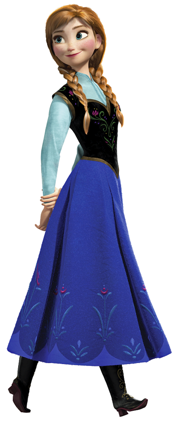 Elsa And Anna Clipart