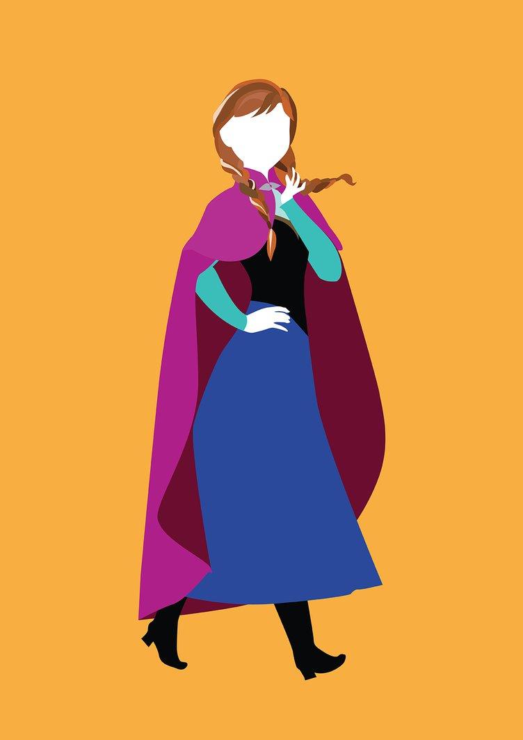 752x1063 Princess Anna From Frozen By Alicewieckowska
