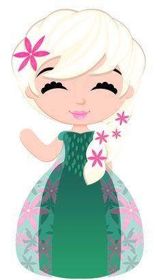 236x410 Snow Princess Clipart, Snow Princess Digital Clipart, Frozen