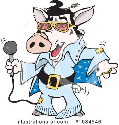 400x420 Elvis Cartoon Clipart