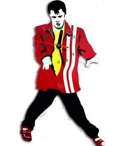 260x300 Elvis Presley Swinging Legs Pendulum Wall Clock Great Gift