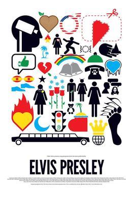 262x386 Elvis Presley As Poster In Standard Frame By Viktor Hertz Juniqe