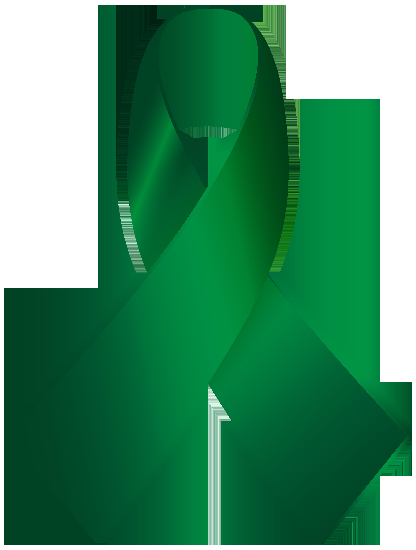 4531x6000 Green Awareness Ribbon Png Clip Art