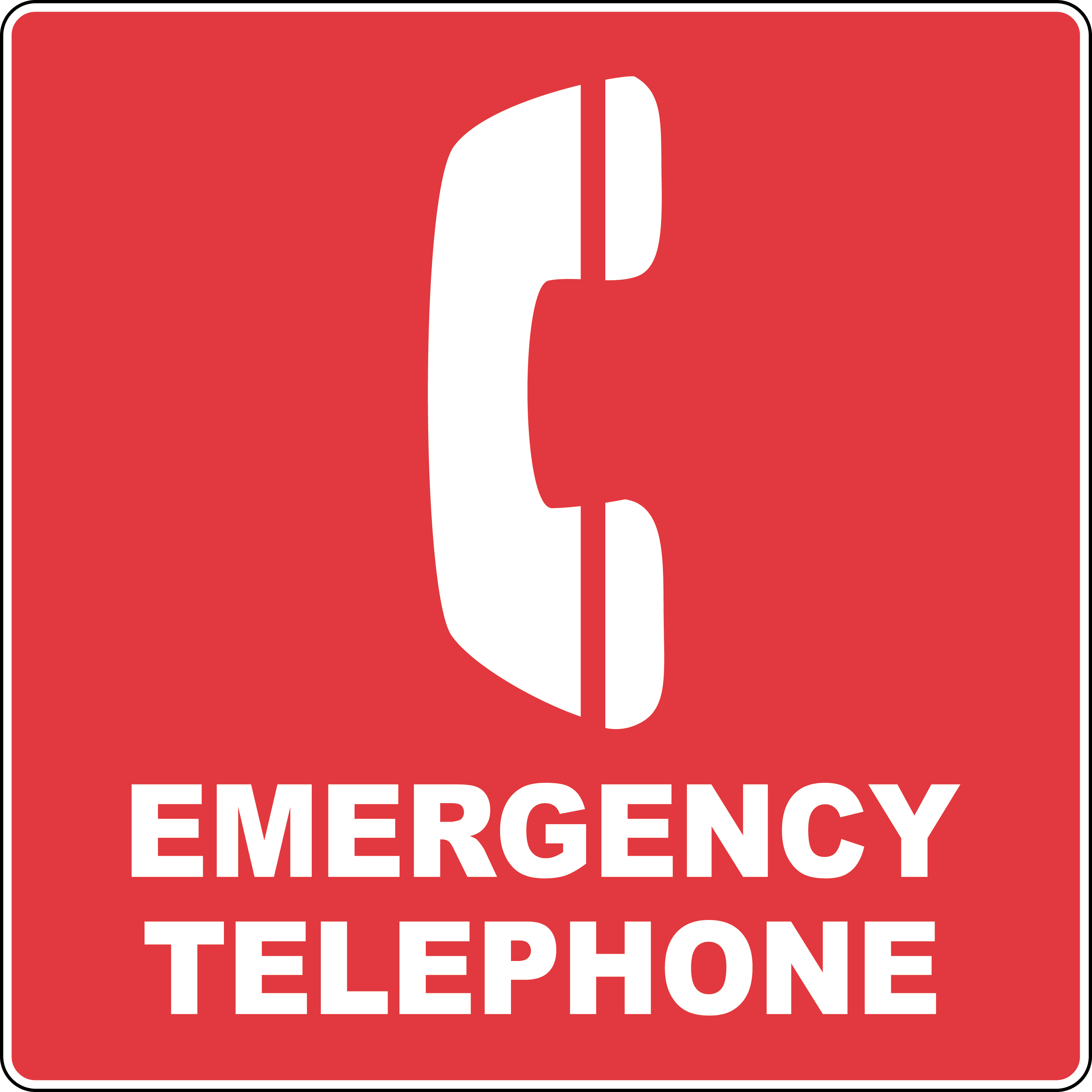3009x3009 Clip Art Emergency Clip Art