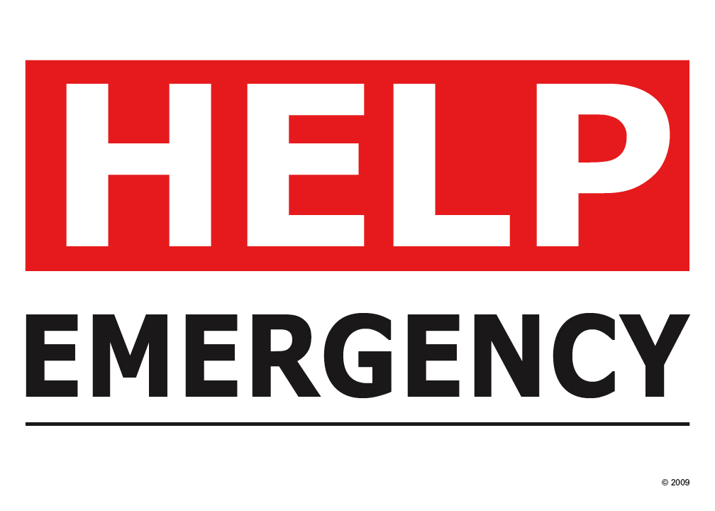 1008x720 Emergency Signs Clipart