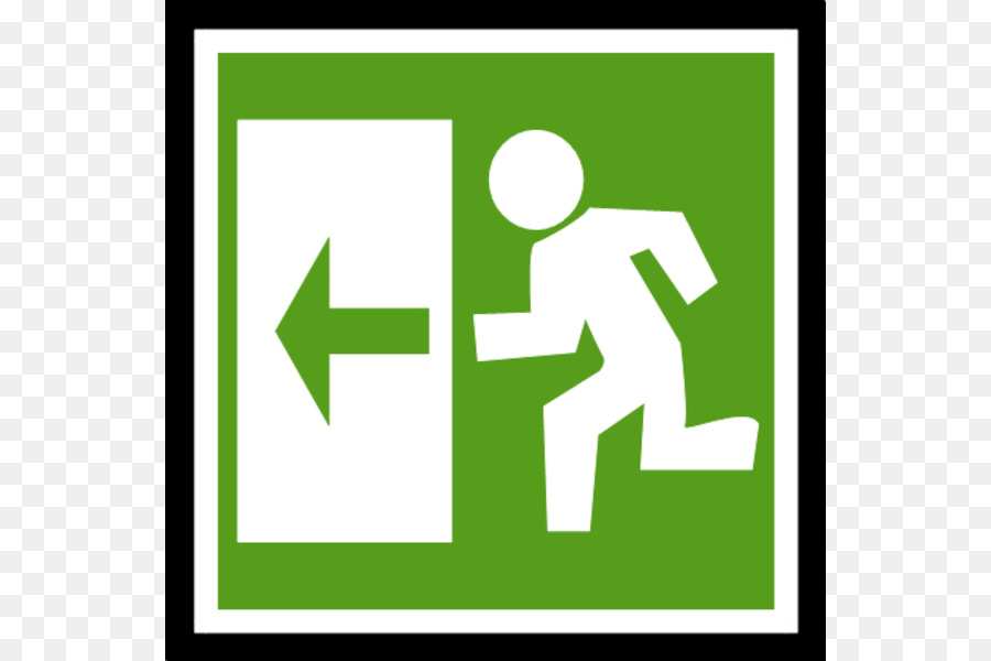 900x600 Emergency Exit Exit Sign Fire Escape Clip Art
